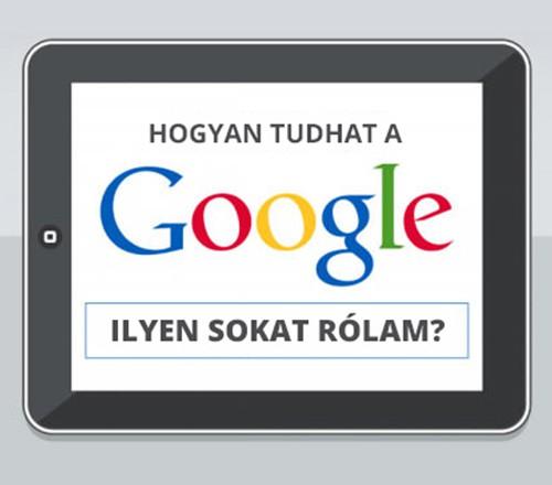 Mi mindent tudhat rólam a Google?